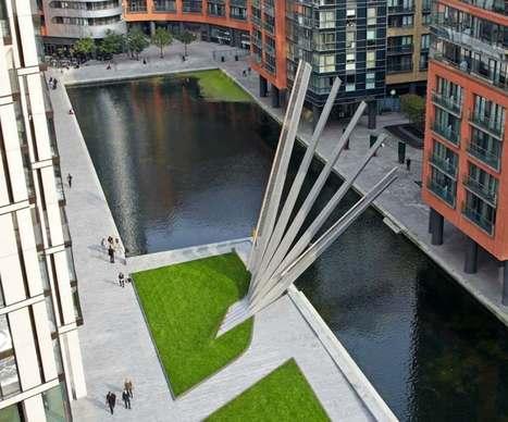 A Londres, ce superbe pont-levis se déploie comme un éventail géant ! | Dans l'actu | Doc' ESTP | Scoop.it