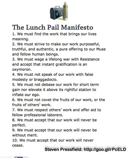 Lunch Pail Manifesto   Rhizomatic Learning for Dummies   Scoop.it