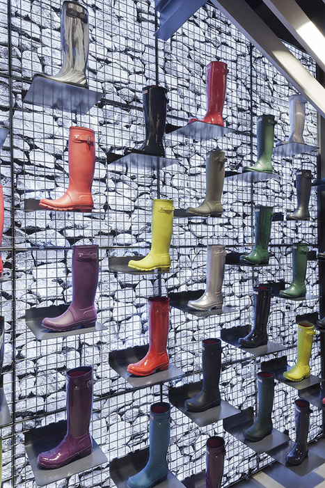 The Cool Hunter - Hunter Boots Flagship Store - London | retail and design | Scoop.it