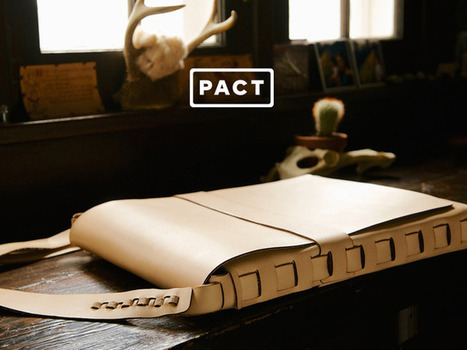 PACT — Threadless, Glueless Leather Cases | EDC Ideas | Scoop.it