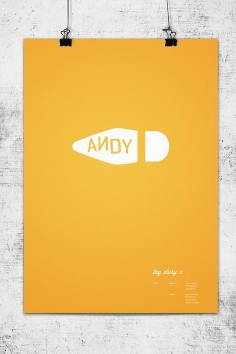Pixar Minimalist Poster | designit | Scoop.it