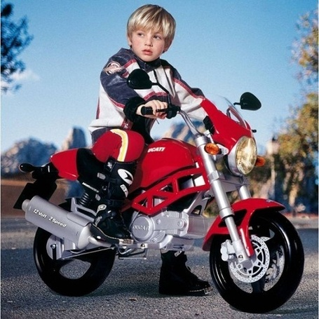 Get your kids an electric Ducati motorcycle - The Red Ferret Journal | Ductalk | Scoop.it