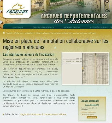 AD 08 : Ardennes, annotation collaborative | CGMA Généalogie | Scoop.it