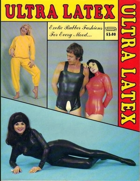 Latex 'bedroom' fashions from 1975 | VIM | Scoop.it