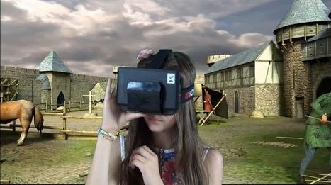 Des casques de réalité virtuelle au Château de Selles-sur-Cher   etourisme   E-Tourisme   Scoop.it