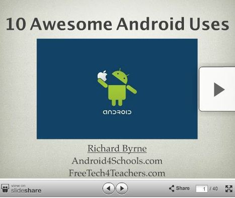 10 Awesome Android Uses and Apps in Education | E-apprentissage | Scoop.it