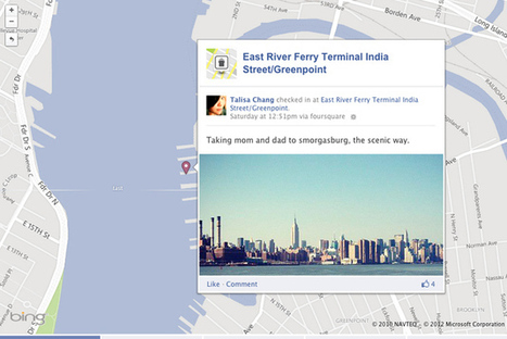 Foursquare check-ins can now be added to Facebook Timeline map ... | Multimedia Journalism | Scoop.it