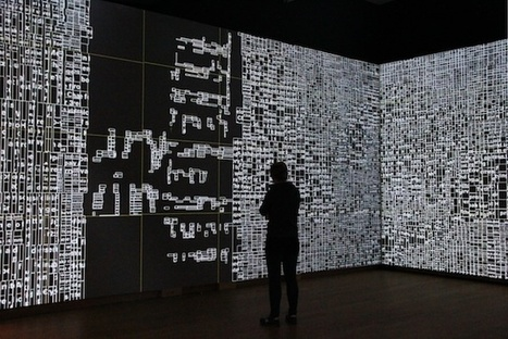 'Moving Typography' in Amsterdam:  Exploring New Ways of Representing and Interacting with Data   Art, Architecture and Design   Scoop.it