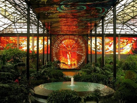 Cosmovitral un jardin botanique sous une serre de vitraux | miseauverre.com | Scoop.it
