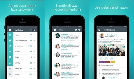 Engagor Goes Mobile With New iOS App | Digital-News on Scoop.it today | Scoop.it
