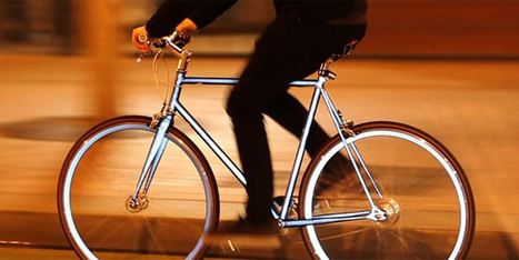 Brilliant Bike Glows Like the Sun When Headlights Hit It | Gadget Lab | WIRED | personalinterests | Scoop.it