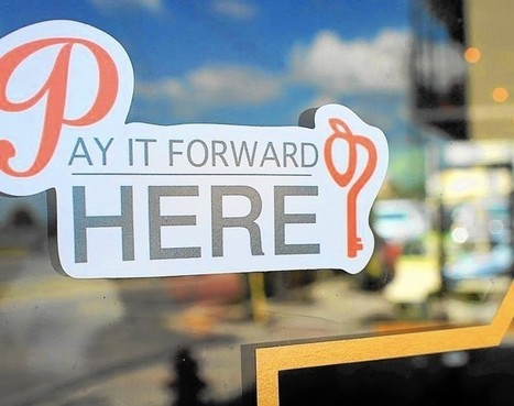Pay it Forward campaign creates buzz in downtown Tavares - Orlando Sentinel | ProjectGoodwill | Scoop.it