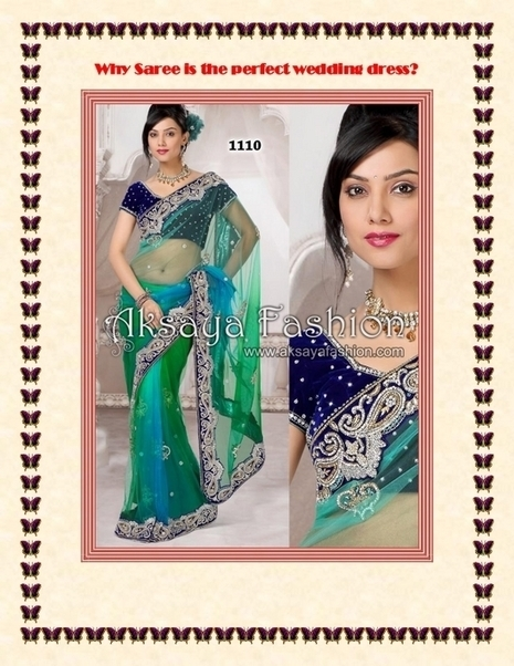 Why Saree is the perfect wedding dress - PDF | Indian Wediing Dresses | Scoop.it