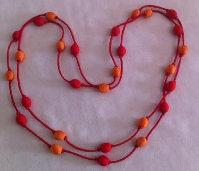fair trade Cambodia, Leftover Silk bead necklace, ethically handcrafted by disabled home based workers.   Handmade Cambodia   Scoop.it