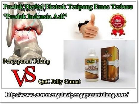 Obat Pengapuran Tulang Tradisional Alami AMPUH | Jelly Gamat Gold G | Scoop.it