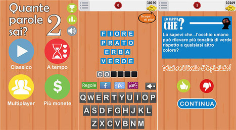Quante Parole Sai? 2 – La nuova versione del gioco che mette alla prova la tua conoscenza della lingua italiana | studiare italiano | Scoop.it
