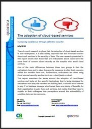 The adoption of cloud-based services: Increasing confidence through effective security (CA Technology y Quocirca)   Technology   Scoop.it