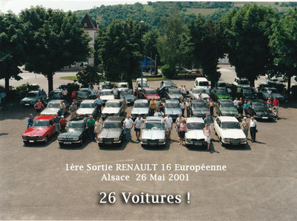 MUST R16 : Club alsacien de Renault 16 | Renault 16 | Scoop.it