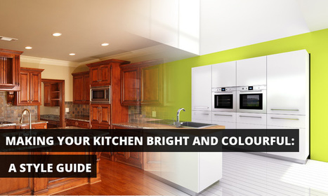 Kitchen Remodeling Ideas - Making your Kitchen Bright and Colorful | Custom Cabinet | Scoop.it
