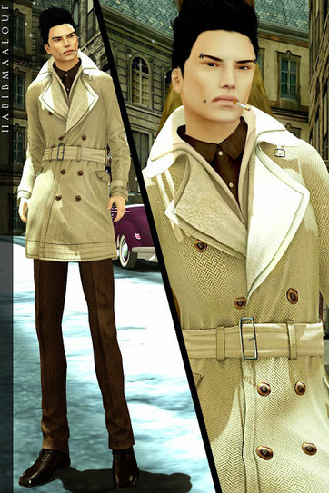 New Gizza Coat for Men this Winter Season | MIMI'S CHOICE IN SECOND LIFE | Scoop.it