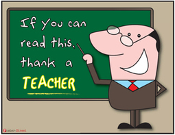 Teacher Posters - If you can read this, thank a teacher | Creativity and ELTpics | Scoop.it