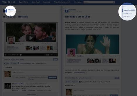 Timeline, un tema per WordPress simile a Facebook – Gratis! | Tecnologia & Videogames | Scoop.it