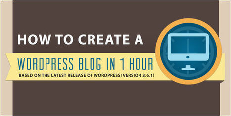How to Create a Wordpress Blog [Infographic]   Erect a sound infrastructure   Scoop.it