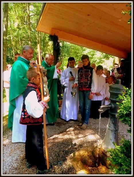 V kúpeľoch Vyšné Ružbachy požehnal spišský biskup prameň | Správy Výveska | Scoop.it