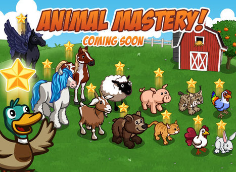 Farmville: Animal Mastery Coming Soon ! | Get Down On The Farm With Facebook and FARMVILLE | Scoop.it