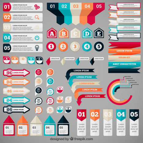 Freebie Release: 5 Sets of Infographic Banners by Freepik | Mundo diseño | Scoop.it
