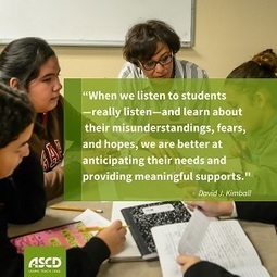 » Want Students to Succeed? Teach with a Tough Empathy PedagogyASCD Inservice | Educated | Scoop.it