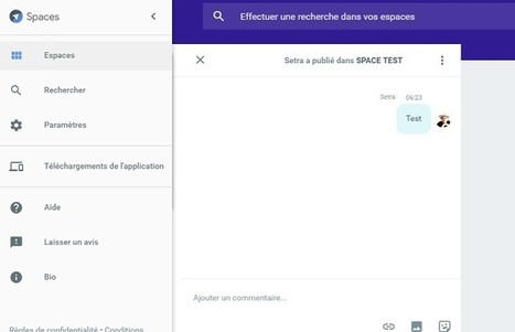 "Google lance l'application ""Espaces"" | Presse-Citron | Digital News in France | Scoop.it"