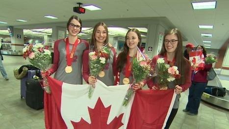 Nova Scotian junior curlers say gold medal is 'a dream come true' | NovaScotia News | Scoop.it