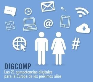 Las 21 competencias digitales para la Europa de los próximos años | Learning today | Scoop.it