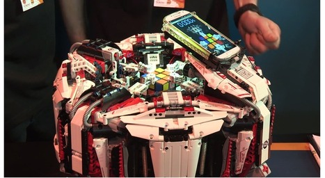 Lego robot crushes Rubik's Cube world record with superhuman speed | Ca m'interpelle... | Scoop.it