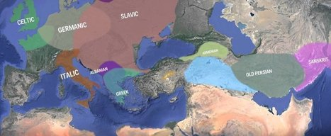 WATCH: This map shows how Indo-European languages may have evolved | Cool Stuff! | Scoop.it