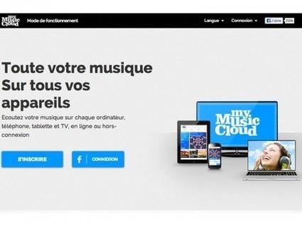 My Music Cloud, pour lire de la musique en ligne et hors ligne | Autour du Web | Créer des rythmes et des mélodies en toute liberté sur le Web | Scoop.it