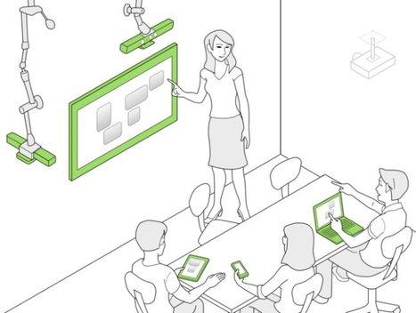 Compartir contenido con gestos: no es ciencia ficción sino Kinect | Teachelearner | Scoop.it