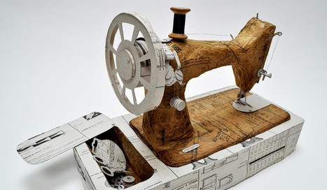 An Artist Who Sews Paper Into 3-D Sculptures | Co.Design | Tracking Transmedia | Scoop.it