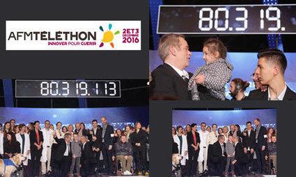 Téléthon 2016 : plus de 80 millions de promesses de dons | Les bons conseils de la CNM | Scoop.it