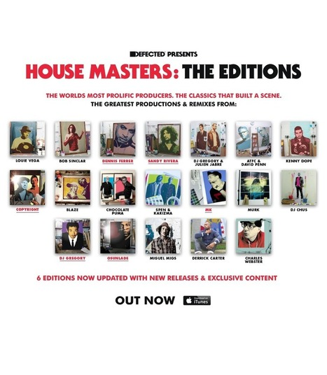 @DefectedRecords present House Masters: The Editions | #Music | Scoop.it