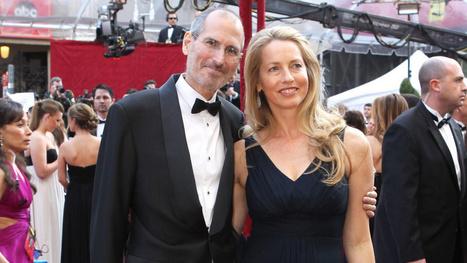 La veuve de Steve Jobs est la 9e femme la plus riche au monde... | Geeks | Scoop.it