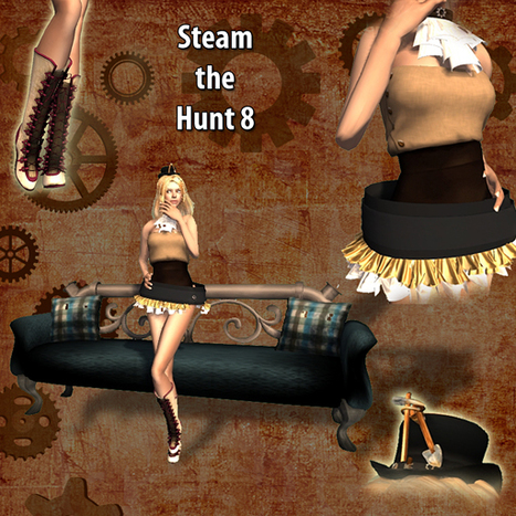 Steam the Hunt8 is Here !!! | Second LIfe Good Stuff | Scoop.it