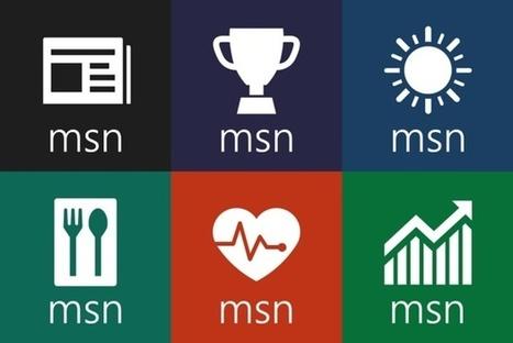 Microsoft annonce la disponibilité des applications MSN sur iPhone   Veille   Scoop.it