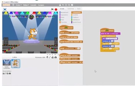 Programmer avec Scratch | robotique-codage-et-technologie | Scoop.it