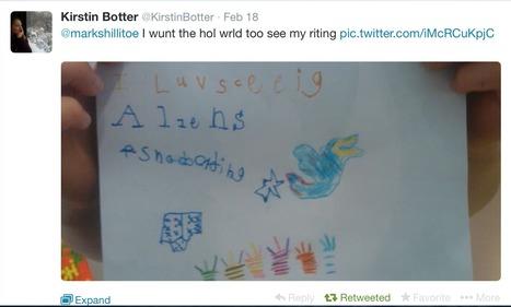 Twitter, aliens and interesting props inspire story writing in Kindergarten | Writing ideas | Scoop.it