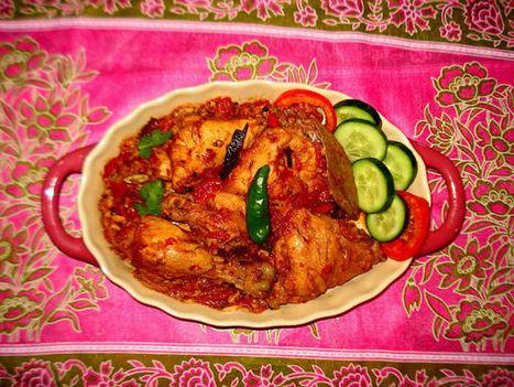Ramzan Special: Khade Masale Ka Chicken   AntaresChris   Scoop.it