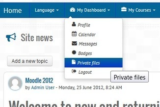Moodle in English: Theme: Essential - How to customise top menu | tipsmoodle | Scoop.it