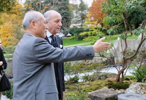 Japanese garden officially unveiled in Paris - The Japan Times | Japanese Gardens | Scoop.it
