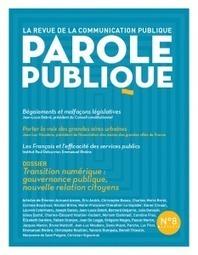 LE NUMÉRIQUE RÉINVENTE LA COMMUNICATION PUBLIQUE - Communication publique | Les impacts du web 2.0 sur l'entreprise | Scoop.it